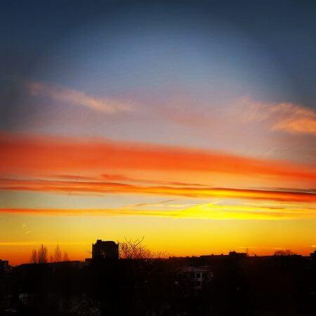 Sonnenaufgang Braunschweig