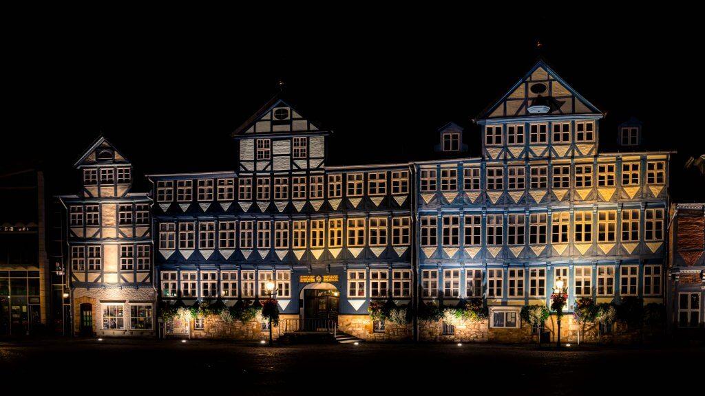 Rathausfassade Wolfenbüttel Stadtmarkt