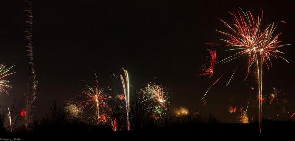 Silvester Feuerwerk