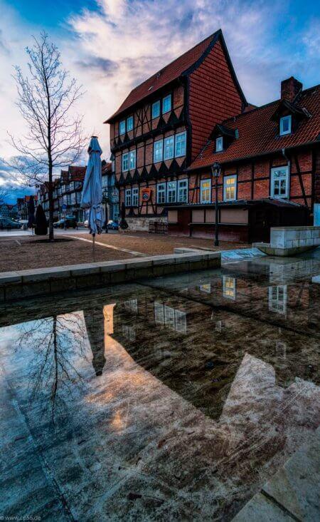 when the rain is gone Wolfenbüttel Fachwerkhaus