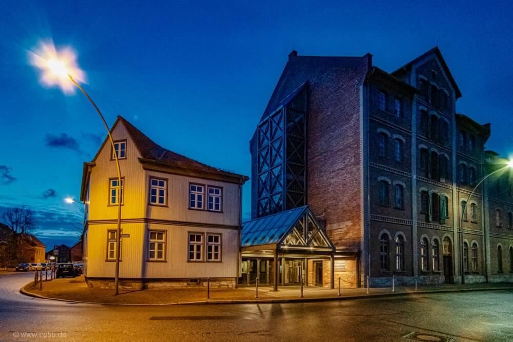 Blaue Stunde Schünemannsche Mühle