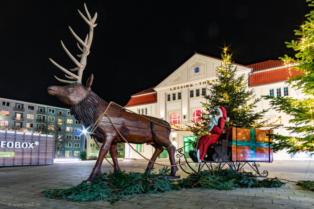 Lessing-Theater Winterflair Weihnachtsmann