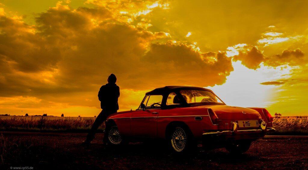 Sundown with MG