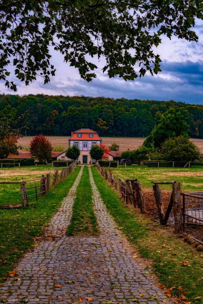 Herbst - Schloß Derneburg