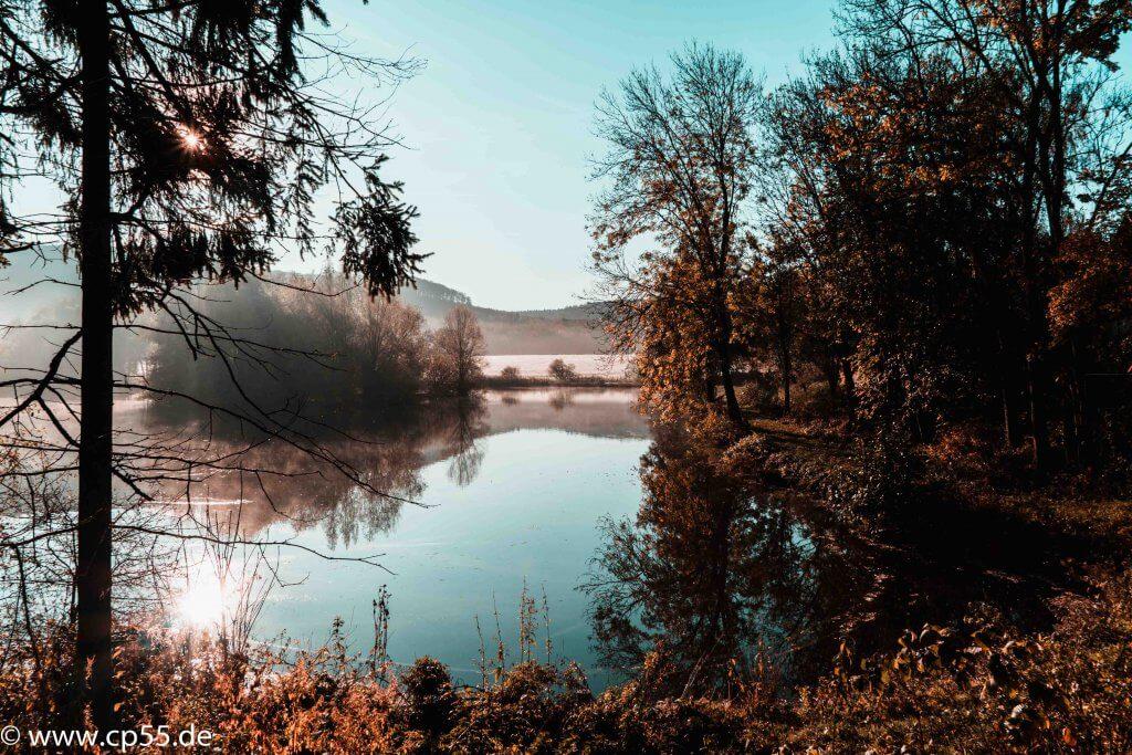 Teich am Morgen Reitlingstal