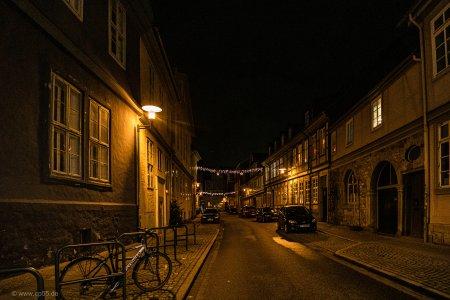 Wolfenbüttel bei Nacht