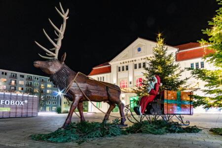 Lessing-Theater Winterflair Weihnachtsmann
